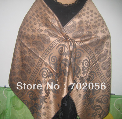 Lady fashion shawl   Scarf     wrap     Scarves   mixedcolor 10PCS/LOT #2506