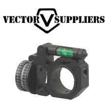 Vector Optics 30mm / 25.4mm ADI Indicador horizontal y vertical Nivel de burbuja Alcance Anillo de montaje