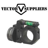 Vector Optics 30mm/25,4mm ADI indicador Horizontal y Vertical nivel de burbuja anillo de montaje del alcance