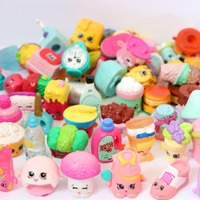 100pcs Lot Shopkin Cartoon Action Figures Dolls Kids Toys Girls Gifts Brinquedos Christmas Gift