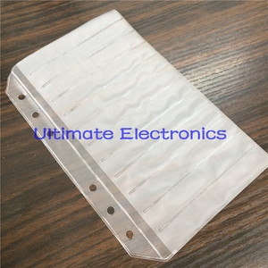 Image 2 - 100pcs/lot Empty pages For components sample book 0402/0603/0805/1206 SMD Electronic Components assorted