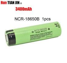 Recarregável para Panasonic plus Frete 1 PCS 100% Novidade Original 18650 Ncr18650b 3400 MAH Li-ion Bateria Grátis