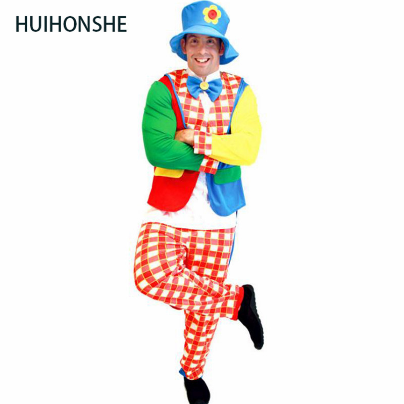 Halloween adult clown costume clown suit masquerade costume cosplay magic show bloody funny striped clown Top+Pants+hat suit-in Game Costumes from Novelty ...  sc 1 st  AliExpress.com & Halloween adult clown costume clown suit masquerade costume cosplay ...
