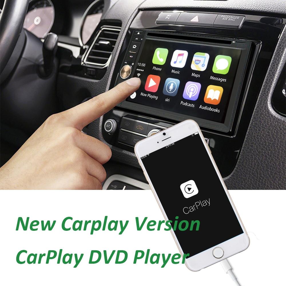 Carplay Car DVD CD MP3 WMA Player Car Stereo Radio Bluetooth Hands free Music Streaming USB/SD Universal Carplay Player rs 1010bt car bluetooth hands free stereo mp3 player