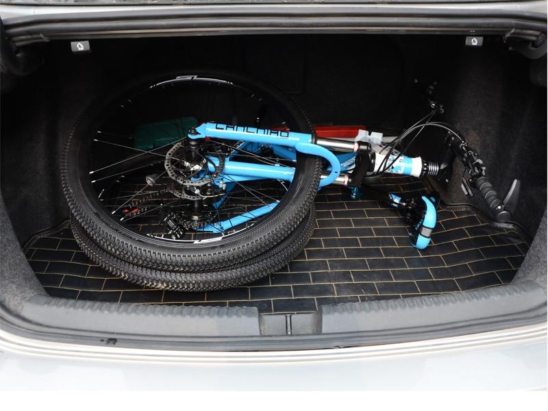 HTB1kDVfSr2pK1RjSZFsq6yNlXXaK 24 26inch folding mountain bike 21 speed double damping 6 knife wheel and 3 knife wheel bicycle double disc brakes mountain bike