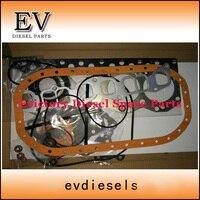 Kit de reconstrucción de motor para carretilla elevadora Deawoo DC24 kit de junta completa con junta de culata