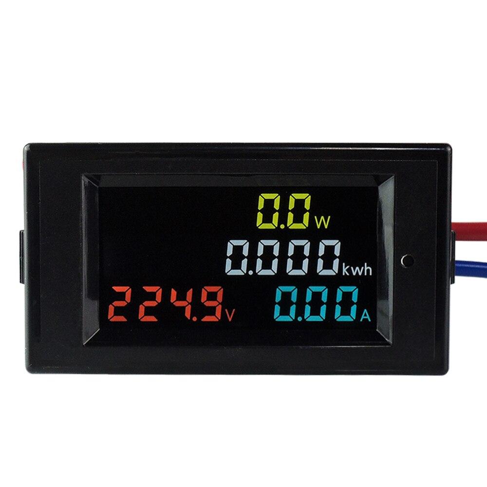 AC 80V~300V 100A Digital LCD Display Digital Current Voltmeter Ammeter Power Energy Multimeter Panel Tester Meter Monitor