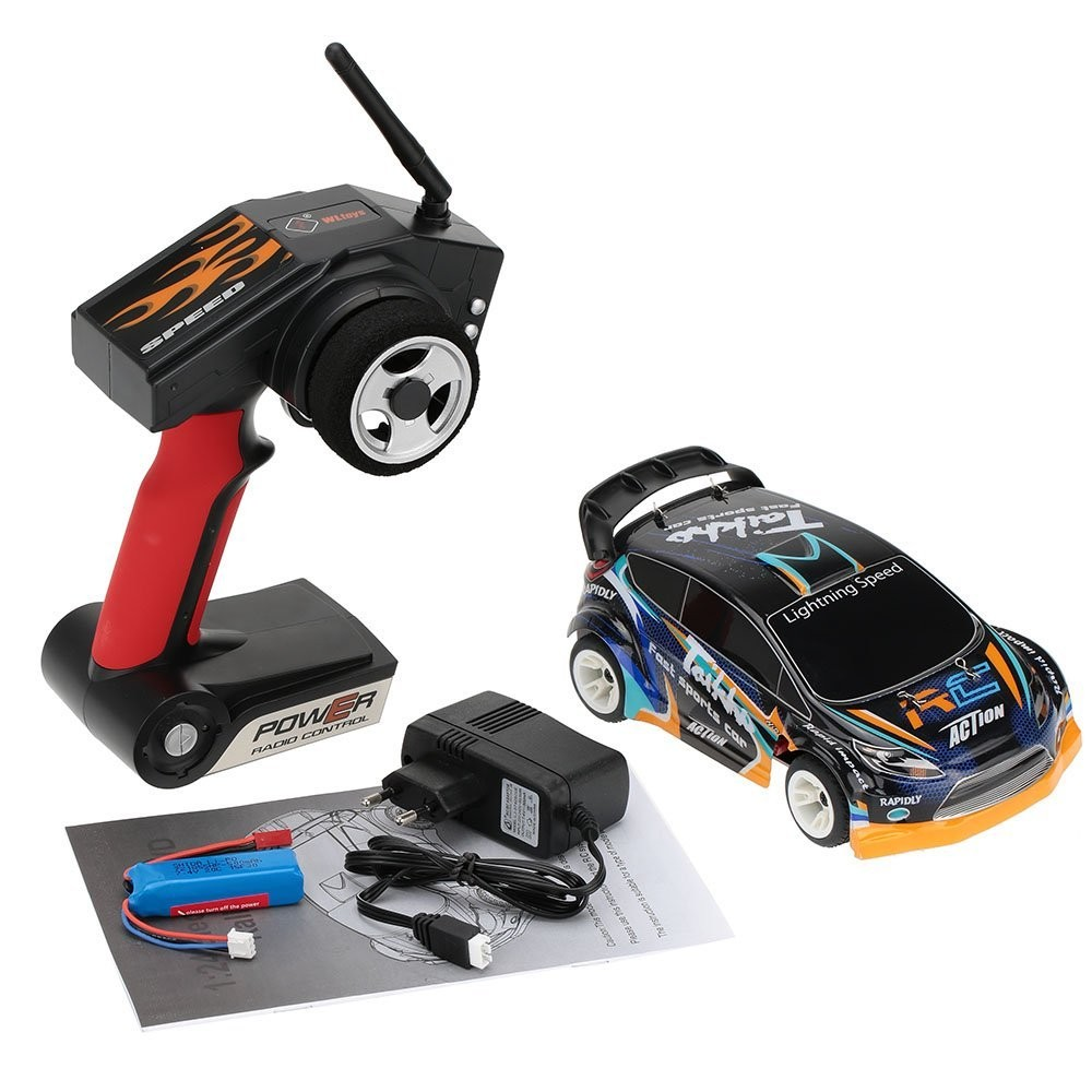 Free Shipping WLtoys A242 1/24 2.4G Electric Brushed 4WD RTR RC Car Off-road Buggy Xmas Gifts RC Toys Kid's Toys Gift wltoys a202 rc car off road buggy 1 24 scale 2 4g electric brushed 4wd rtr