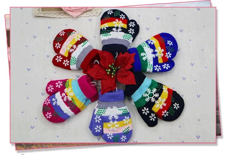 Gift,children High Quality Autumn Winter Outdoor Warm Women Touch Kids Knited Gloves Half / Full Finger Mitten1pair=2pcs GW61