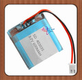 XHR-2P 2.54 3.7 В спикер батарея лития полимера 600 мАч 403035