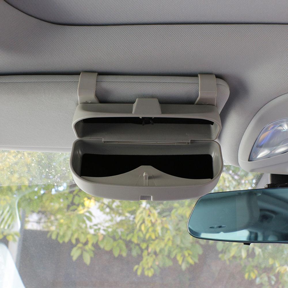Jameo Auto Car SunGlasses Glasses Holder Box for Mercedes Benz W212 C180 E63 C300 E250 C E CLASS GLK GLC GLE X204 W205 W203 W204