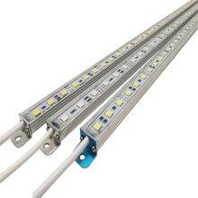 Lampe étanche conforme à la norme IP68, 12V DC, SMD 5050, idéale pour une cuisine, une piscine ou un placard, 50cm