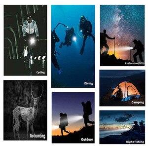Image 5 - SHOOT 30M Underwater Waterproof LED Lamp Diving Fill Light for GoPro Hero 8 7 5 Black Xiaoyi 4K Sjcam Eken Video Flash Lighting