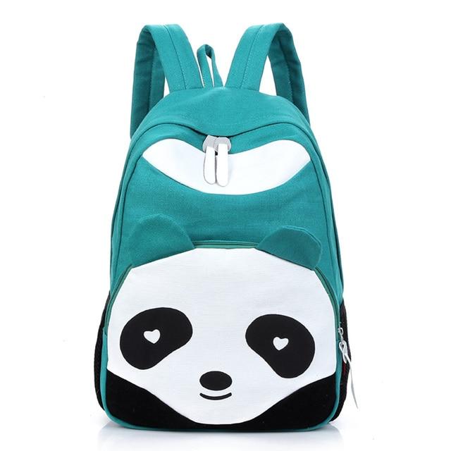 507c200ea420 Backpacks For Teenagers Girls Women Bookbag Panda Girl Schoolbag Travel Cartoon  Rucksack Mochila Quality Laptop Backpack