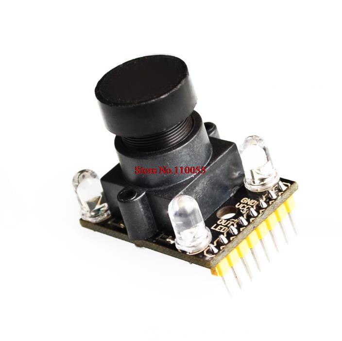 US $8 03 |TCS230 TCS3200D Color Module Color Sensor Camera 3v 5v with A  Wide angle Lens-in Integrated Circuits from Electronic Components &  Supplies