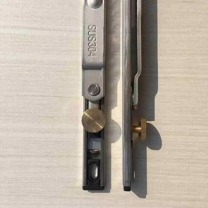 12 дюймов два шатуна алюминиевый сплав двери и окна окно в пластиковой и стальной раме открытие ограничитель аксессуары