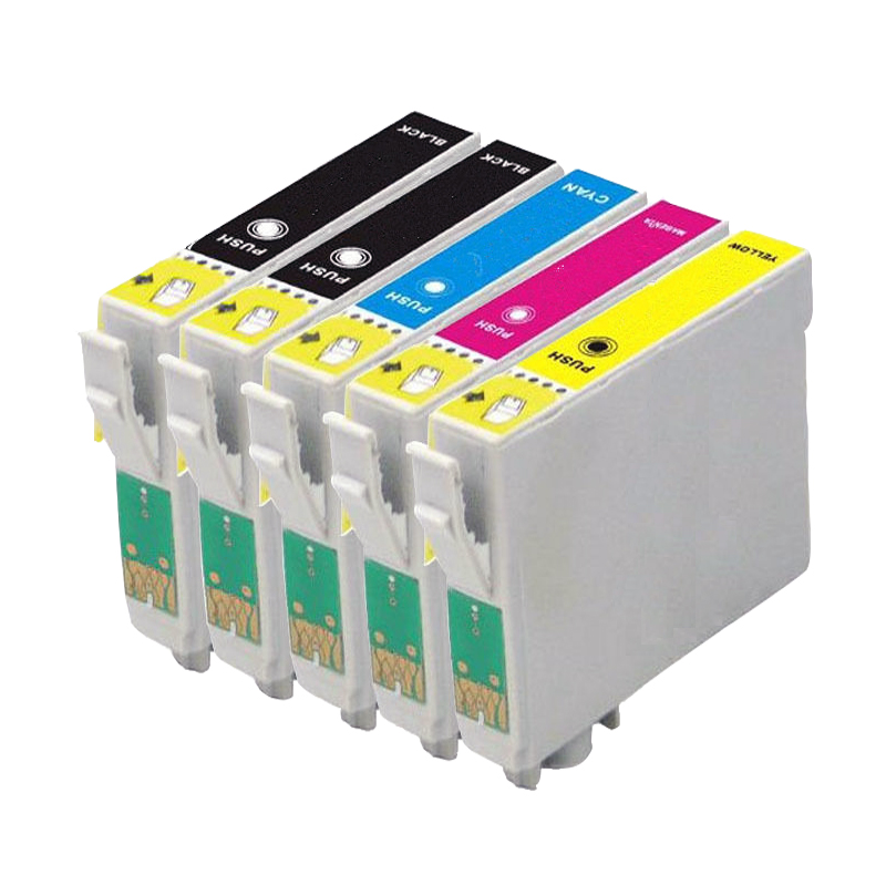 5 Compatible T1281 T1282 T1283 T1284 Ink cartridge for stylus SX130 SX125 SX235W SX435W SX425W BX305F BX305FW Printer