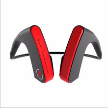 Wireless Bluetooth Headset Bone Conduction Wireless Headset Auriculare Outdoor Sports CVC Bass 3D Stereo Earphone(China)