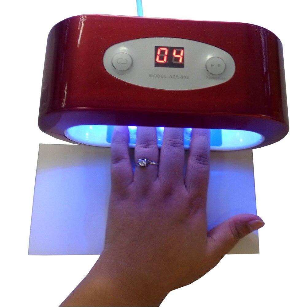 Personal 9w Nail Dryer Mini Led Uv Lamp Gel Curing Led
