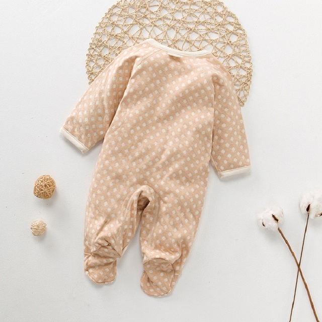 bb388c2b7896e US $10.3 24% OFF|newborn Romper Organic Cotton Baby Girls clothes Overalls  Toddler Infant Jumpsuit 2018 Autumn Kids boys Clothing baby Rompers-in ...