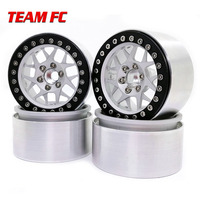 4PCS Metal 2.2 Inch Wheel Rim for 1/10 RC Crawler Axial SCX10 RR10 90053 AX10 Wraith 90056 90045 90048 S159