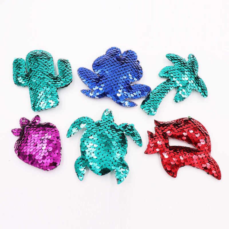 Sitaicery Blue Fish Keychain Charme Glitter Lantejoulas Bolsa Pingente de Carro Styling Chave Anéis Anime Chaveiros Para Presentes Mulheres Acessório