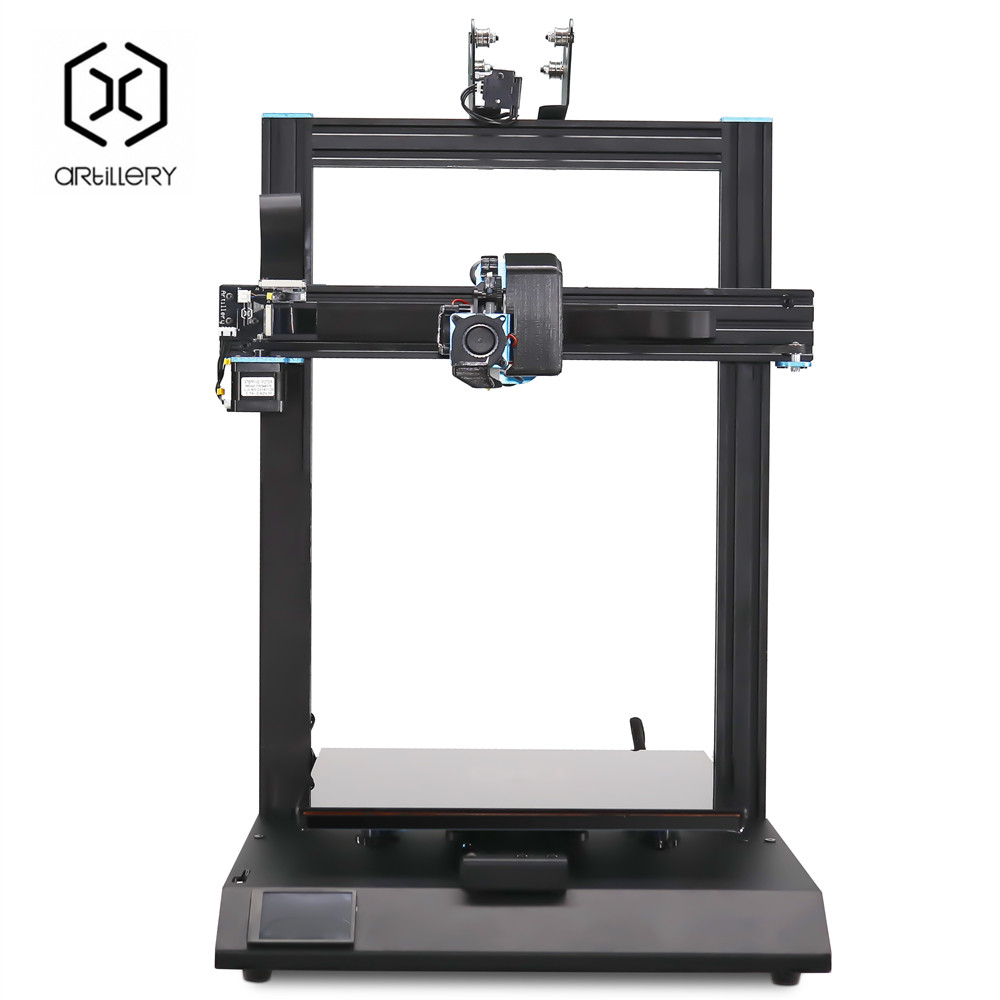 New Artillery Sidewinder X1 Sw-X1 3D Printer Excessive Precision Quick Warmth Up Massive Plus Dimension 3D Printer 300*300*400Mm Twin Z Axis