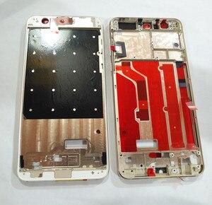 Image 4 - Huawei 명예를위한 ESC 8 중간 프레임 하우징 플레이트 Huawei 명예를위한 베젤 커버 케이스 8 프레임 + sim 카드 슬롯 홀더 + 사이드 버튼