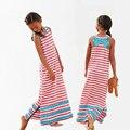 Girls Dress Summer Girls Casual Dress Kids Stripped Long Beach Dress Girls Maxi Dress All for children clothing and accessories
