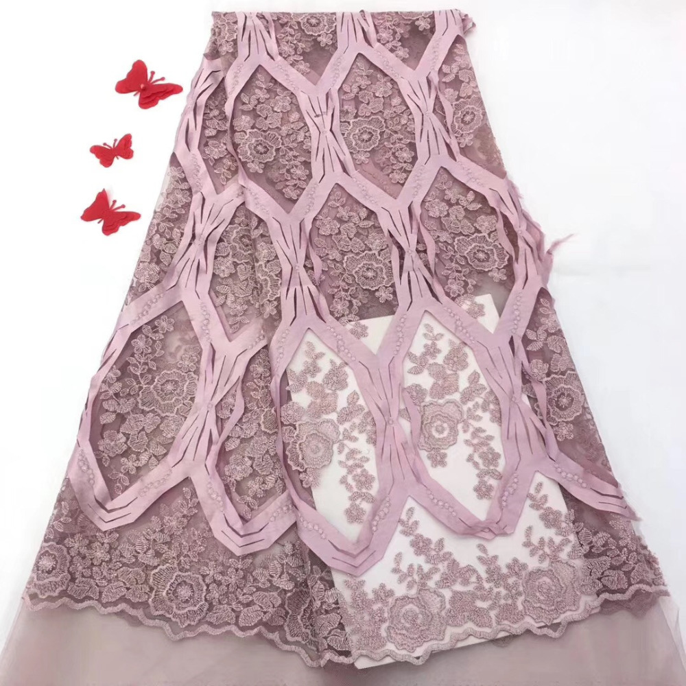 New arrival African Material Lace Flowers Chiffon Material French Net Lace Fabric, 3D Applique Wedding Dresses LaceNew arrival African Material Lace Flowers Chiffon Material French Net Lace Fabric, 3D Applique Wedding Dresses Lace