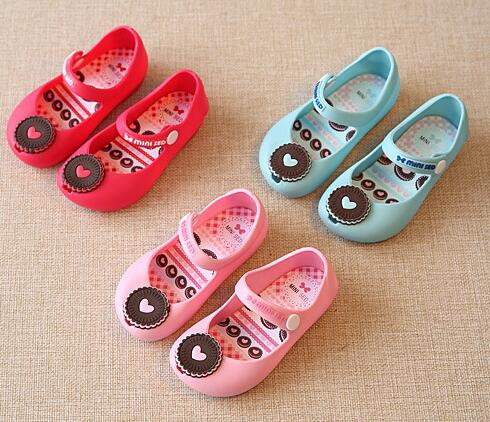 Retail 2017 new children's sandals boys and girls fashion cute jelly soles skirt casual shoes sandals size 24-29