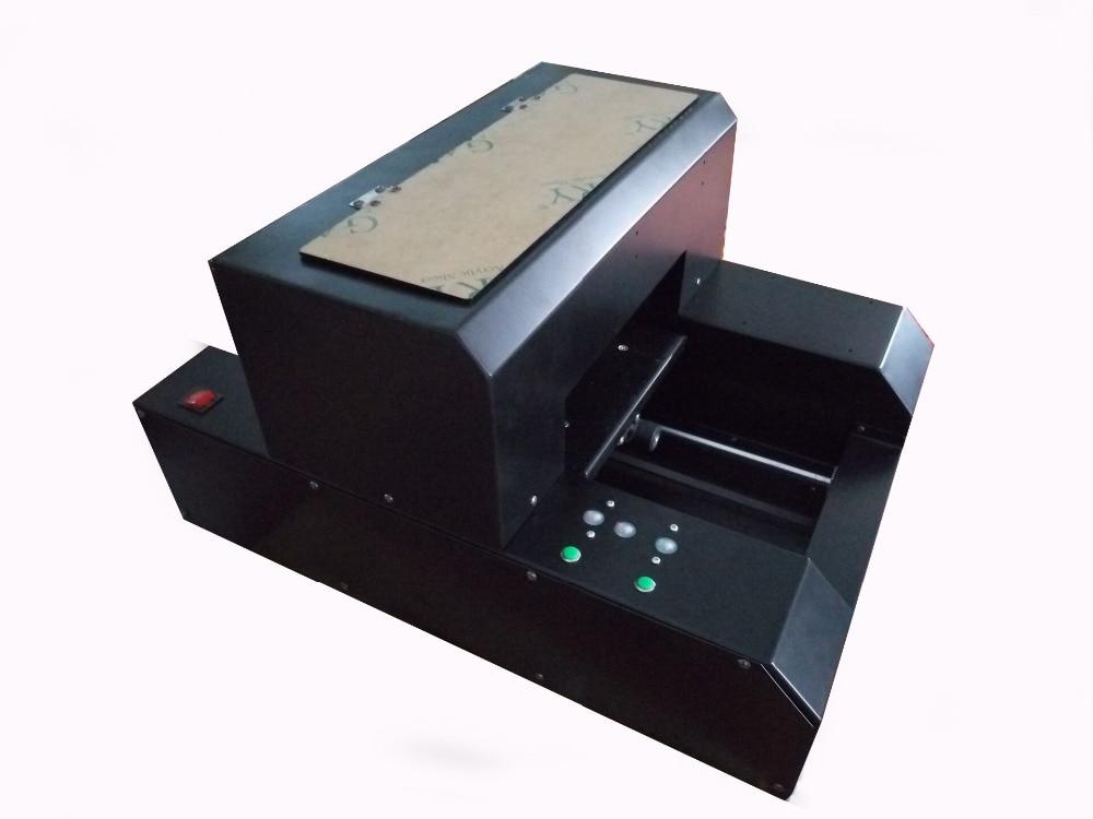 A4 Size Digital Flatbed T Shirt Printer