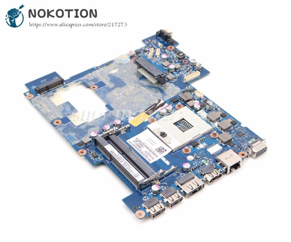 NOKOTION Laptop Motherboard For Lenovo G570 MAIN BOARD HM65 UMA HD DDR3 PIWG2 LA-675AP