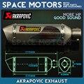 Modified tuning Akrapovic Exaust Pipe Muffler for motorcycle CBR CB400 CB600 CBR600 CBR1000 990 DUKE ER6N ER6R YZF600 TTR