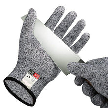 Cut Proof Stab Resistant Wire Metal Glove Kitchen Garden Butcher Cut-Resistant Safety Gardening Gloves(China)