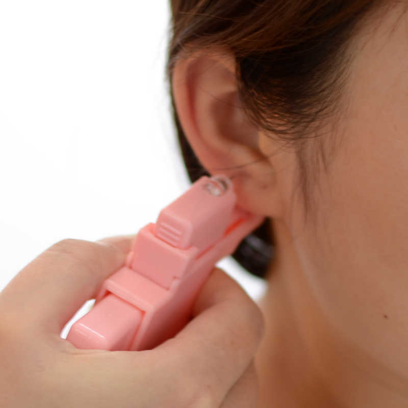 1 Unit Disposable Sterile Safety Ear Piercing Unit Cartilage Tragus Helix Piercing Gun Tool Kit Build with Birthstone CZ Gem