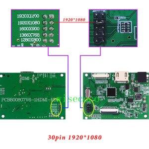 Image 3 - Sterownik Lcd EDP płyta 30pin uniwersalna obsługa 1280*800 1920*1200 1920*1080 1600*900 1366*768 wyświetlacz dla Raspberry Pi
