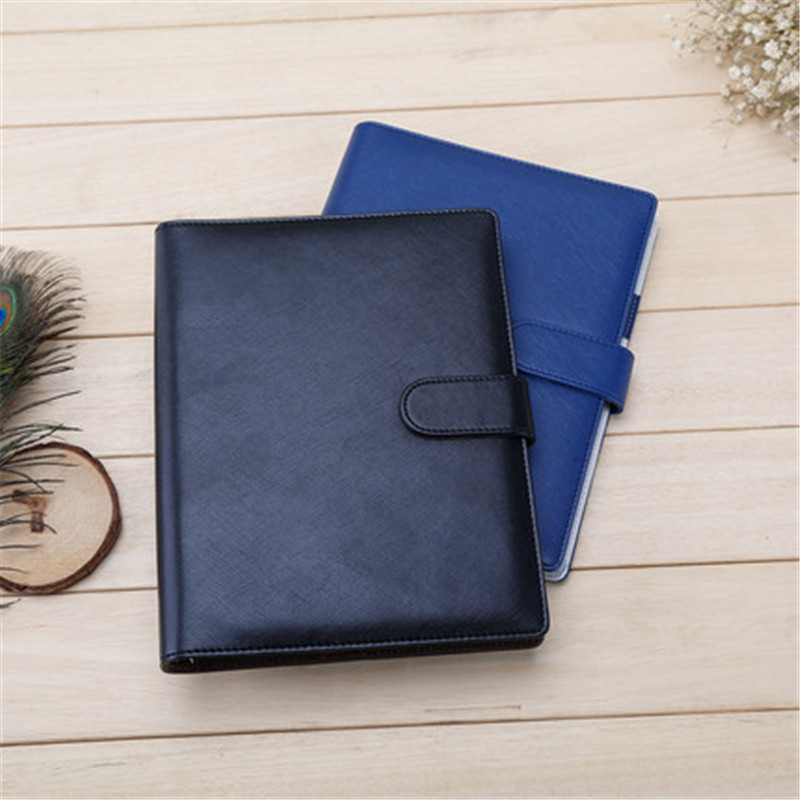 25K Business Travel Spiral Notebook Office Stationery Creative Men Composition Book Blue Black Daily Memos High Quality creative book shaped wired telephone deep blue
