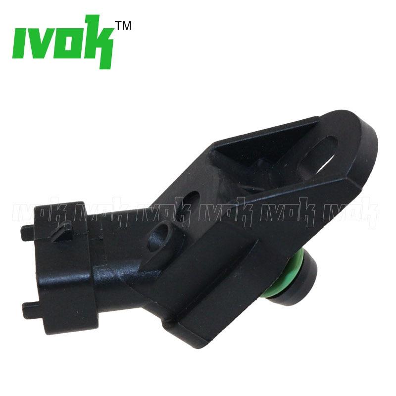 100% Test 2.5BAR Boost Pressure Map Sensor For MG ZR 2.0 ROVER 200 25 400 45 600 220D 0281002137
