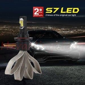 Image 5 - 2 sztuk S7 H4 H7 H11 H8 9006 HB4 H1 H3 HB3 H9 H27 reflektor samochodowy LED światła przeciwmgielne s 6000K dla Nissan Altima led światła przeciwmgielne światło robocze