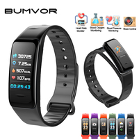 BUMVOR Children S New C1s Color Screen Waterproof Wristband Heart Rate Monitor Blood Pressure Measurement Fitness