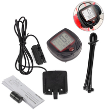 1 Pcs Waterproof Bike Computer,Bicycle Meter Odometer Speedometer With LCD Display,Cycling Computer Velocimetro Wired Stopwatch