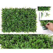 New Artificial Hedge Plant Grass Decorative Creative Artificial Plant Fake Plant For Wall Garden Home Decor