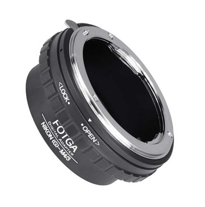 FOTGA Lentille Anneau pour Nikon G AF-S Objectif à Micro 4/3 M4/3 Adaptateur pour EP1 EP2 GF1 GF2 GH1 GH2 G1