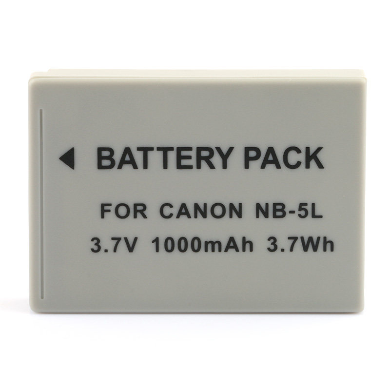 CB-2LXE Cargador De Batería F Canon NB-5L PowerShot S100V//SX220 HS//IXUS 900 Ti//800is