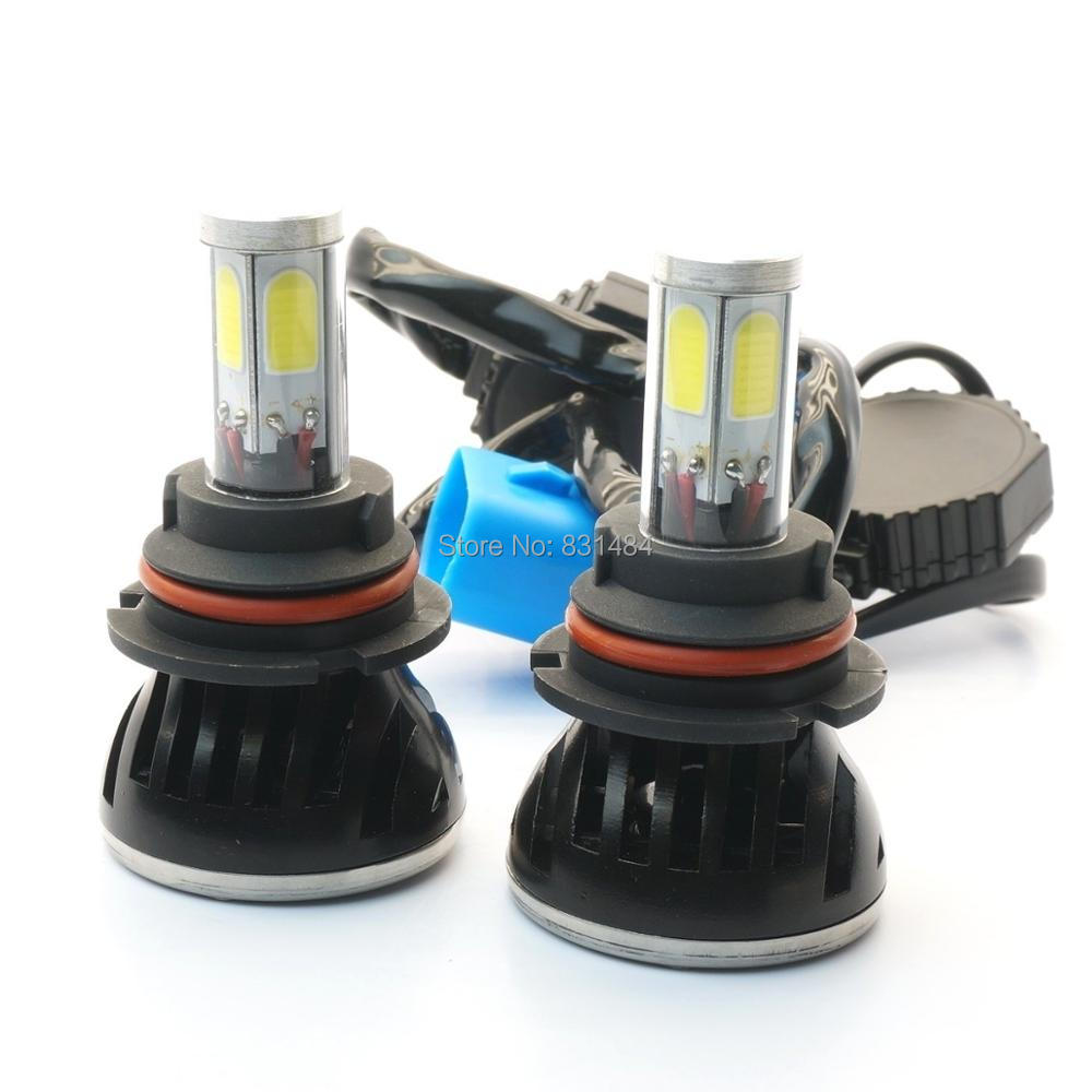 ФОТО 80W 8000LM LED Headlight Kit 9004 LED Headlight H4 H13 9004 9007 High/Low Beam Bulb 6000K 9004 LED Headlight Bulb