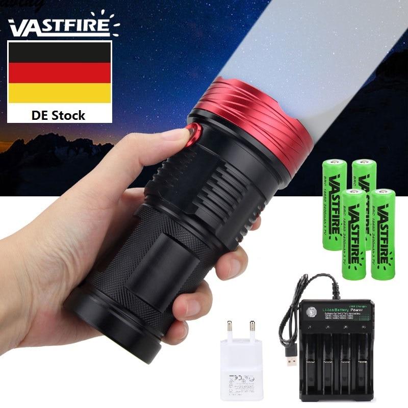 Lampe de poche puissante Lumens 3 Mode 10 lampe à LED lampe de poche en alliage d'aluminium de haute qualité pour la pêche en plein air camping