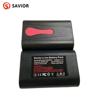 The savior heating underwear battery is 7.4V, 2600mAh, and the lithium polymer battery 1 pair is suitable for heating underwear