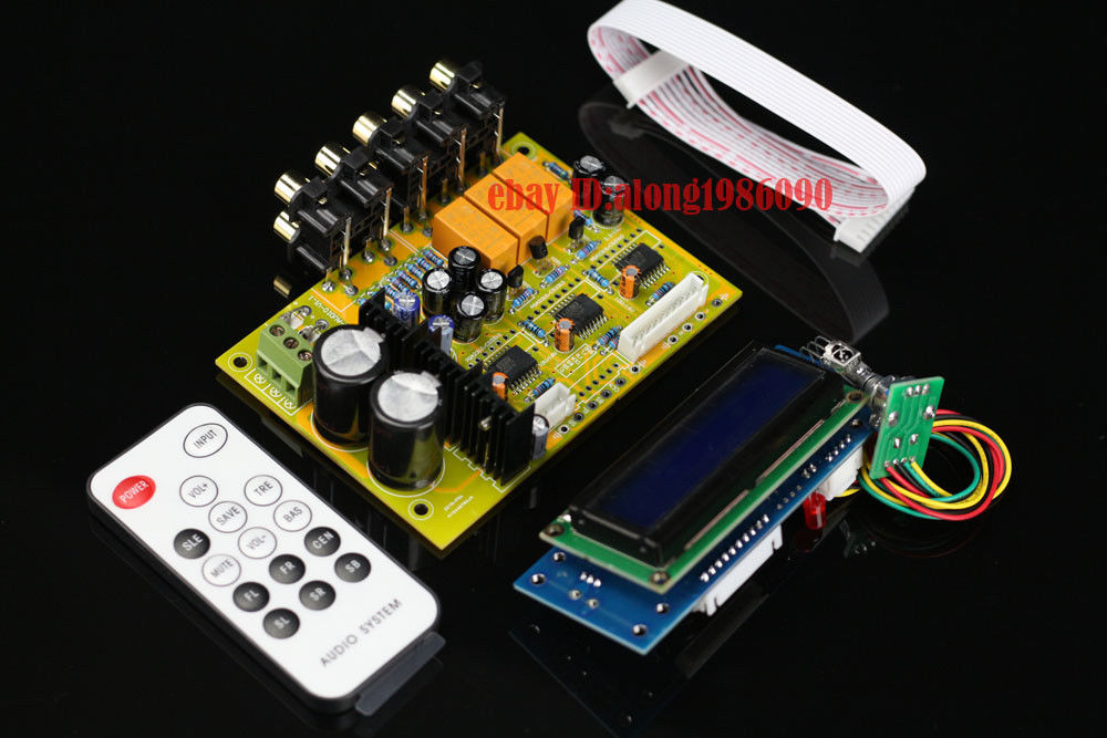 ZEROZONE Assembled Hifi PGA2311U 6 channel remote volume Controller board L6-26 ajin volume 6