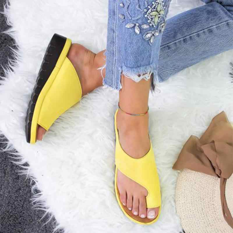 Platform Sandals Women High Heel Zapatillas Summer Male Shoes Fashion Wedge Slippers Beach Flip Flops Solid Slides Lady